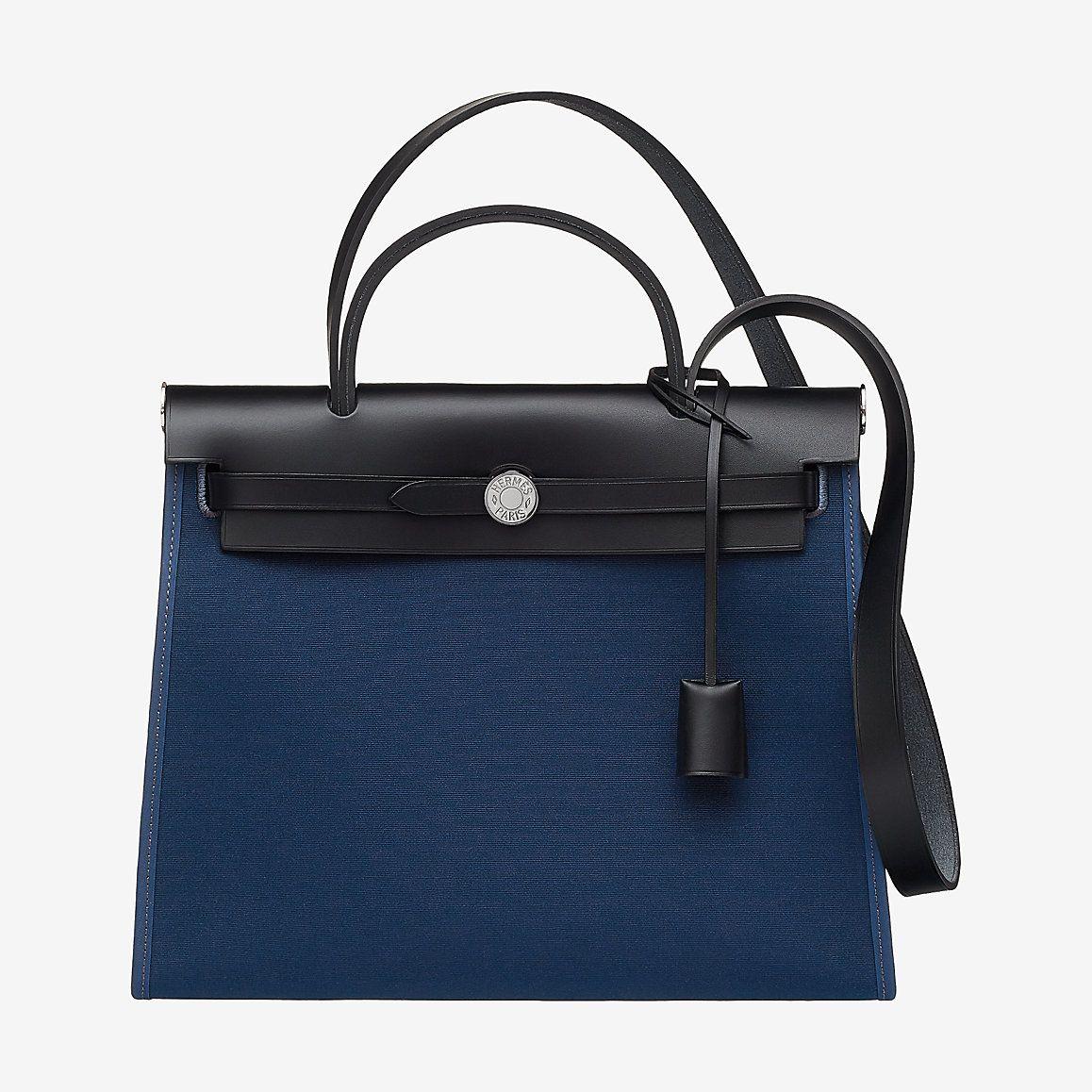60b1af2e6998 Herbag Zip 31 bag - H060300CKCA -- Blue de Malte Noir