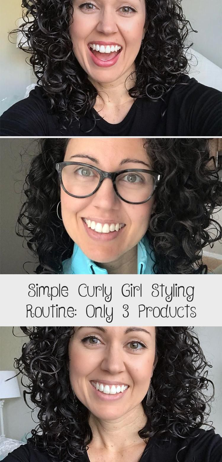 Photo of Simple Curly Girl Styling Routine: Only 3 Products – Hair Styles – Hair Style Ideas
