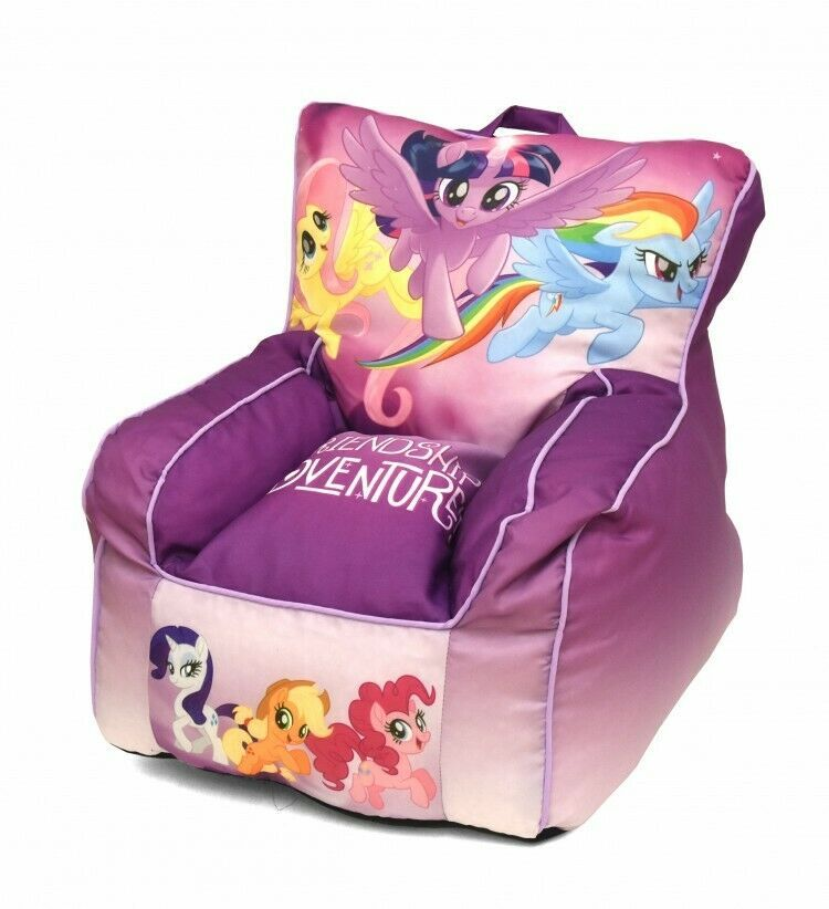 My Little Pony Toddler Bean Bag Chair Playroom Furniture For Ages 1 4 Yrs Old Hasbro Toddler Bean Bag Toddler Bean Bag Chair Bean Bag Chair Covers