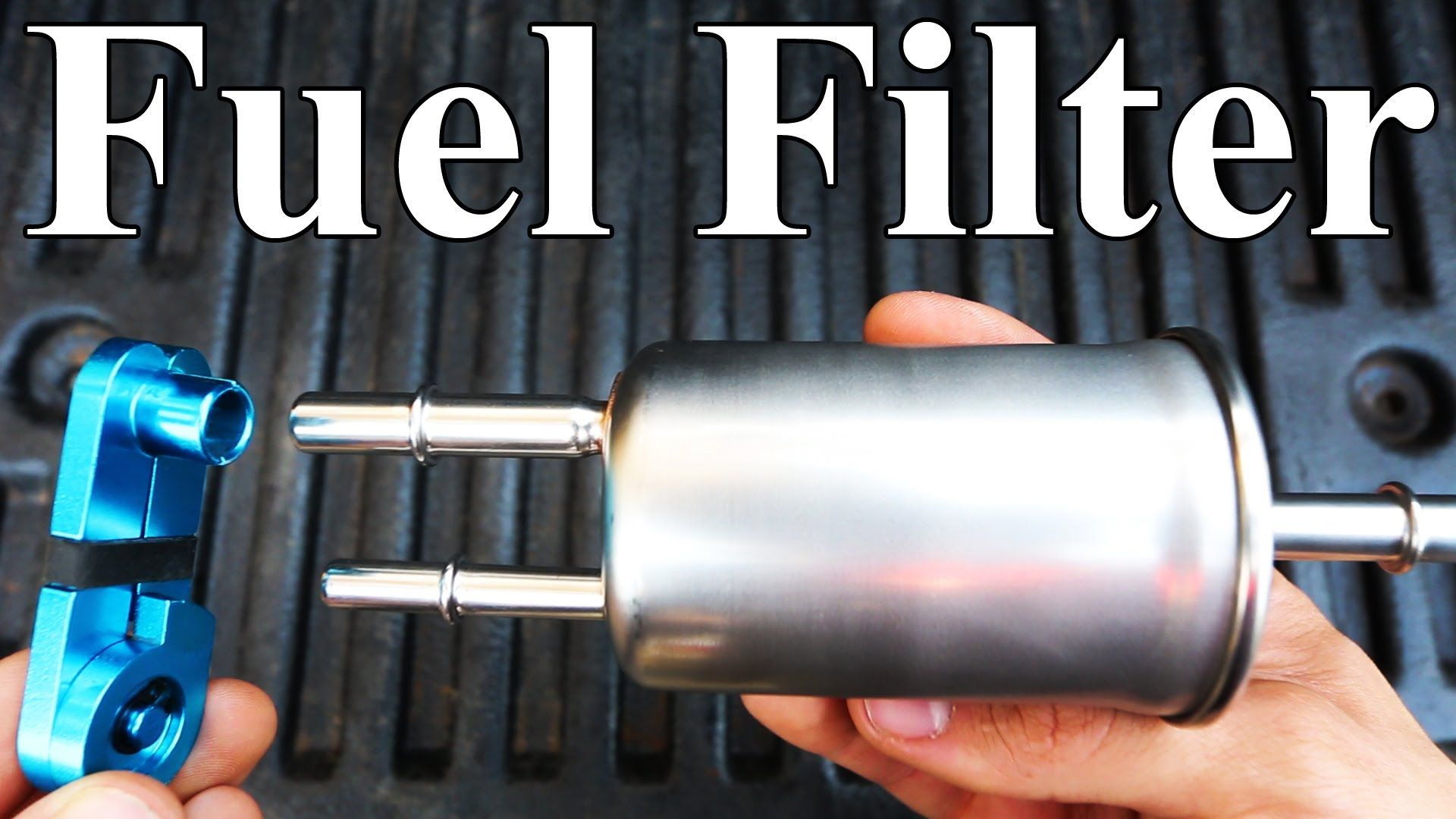 How To Replace a Ford Fuel Filter (homemade disconnect tool