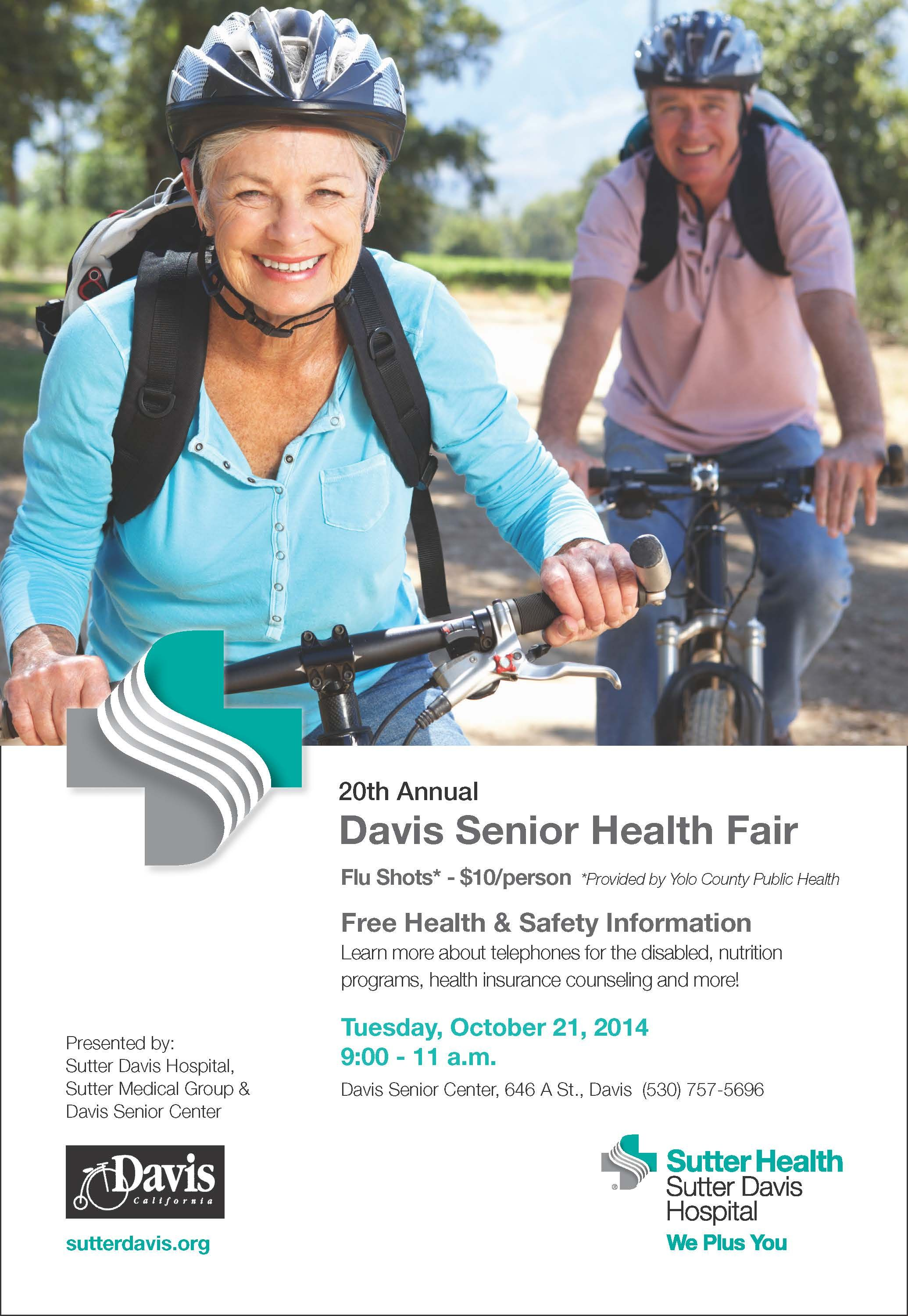 Sutter Davis Hospital is proud to partner with the Davis