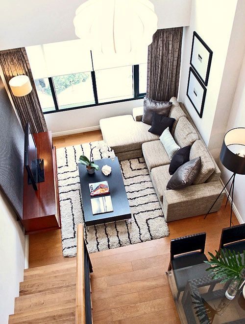 Small Living Room Interiors Design Open Plan And Kitchen Designs How To Efficiently Arrange The Furniture In A Sectional Modern Tv