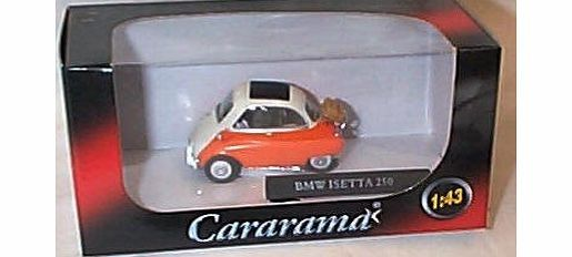 cararama BMW isetta 250 orange and white car 1.43 scale diecast model cararama BMW isetta 250 orange and white car diecast model brand new displayed in a mint box and is in mint condition this model is part of the cararama collection 1.43 s (Barcode EAN = 4891965251202) http://www.comparestoreprices.co.uk/scale-models/cararama-bmw-isetta-250-orange-and-white-car-1-43-scale-diecast-model.asp