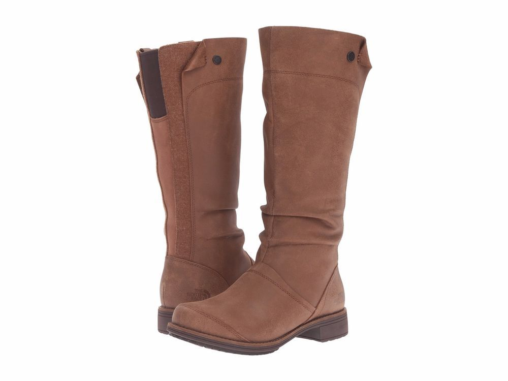 The North Face Leather Knee-High Boots low cost cheap price buy online new outlet amazing price vtwpq