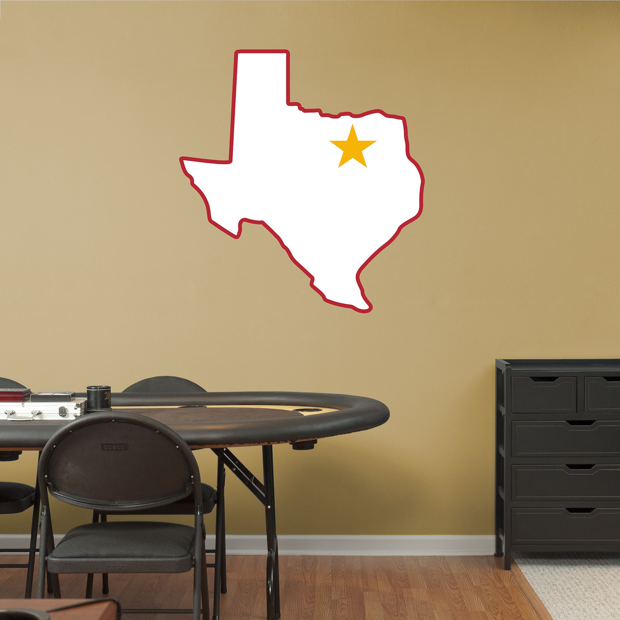 Dallas Texans Original AFL Logo | Kansas City Chiefs Wall Decal | KC ...