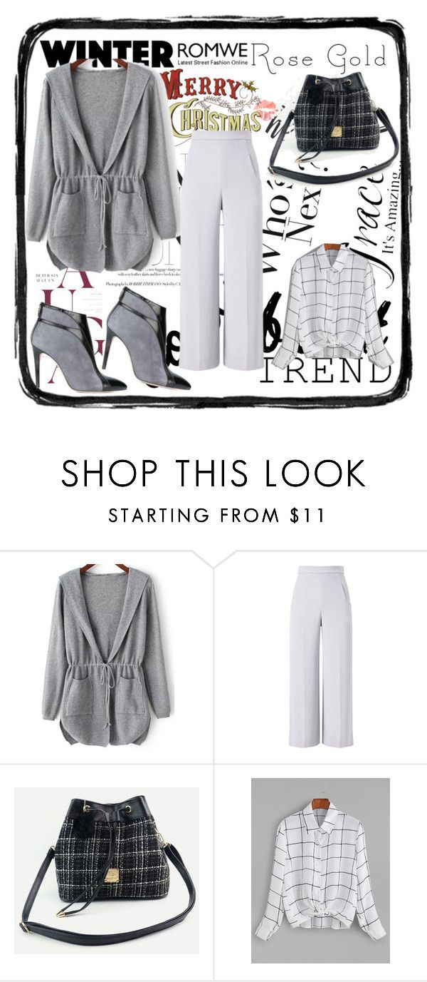"""Romwe 7"" by dinka1-749 ❤ liked on Polyvore featuring Roland Mouret and Francesca Mambrini"