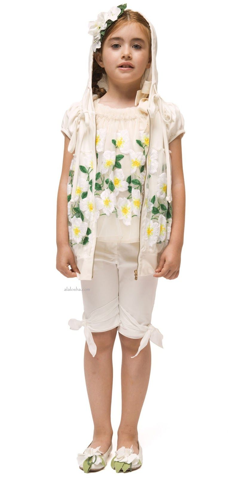 ALALOSHA: VOGUE ENFANTS: These I PINCO PALLINO SS15‬ Flowers dresses are going to propel your look from simple to standout!