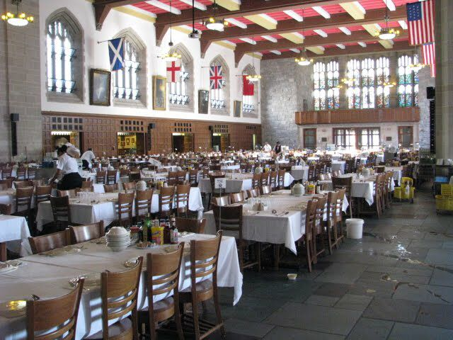 Usma World S Largest Dining Room Or Mess Hall Large Dining Room Dining Hall Auto Repair Shop