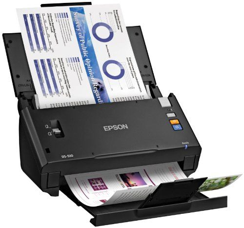 cool Epson WorkForce DS510 Color Document Scanner Epson