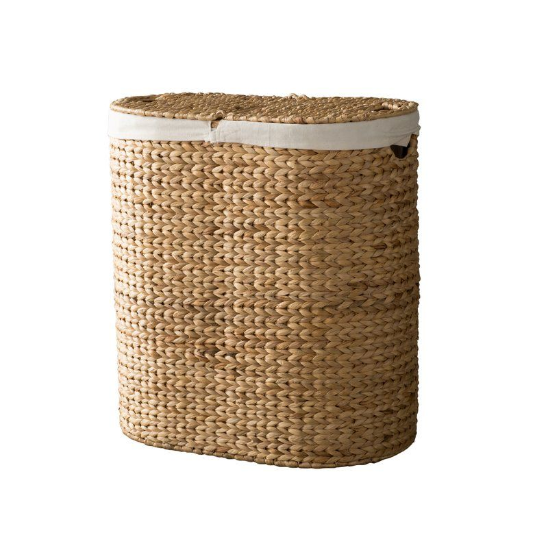 Beverly Double Hamper With Images Double Hamper Wicker