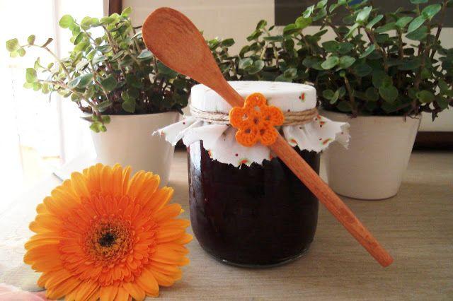 Blog Quitandoca: Geléia de Morango e Blueberry