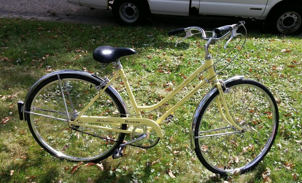 da0fb4980c7 Collectors 1977 Ladies Yellow Schwinn Breeze Bicycle #Schwinn ...