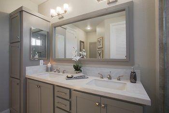 New Mobile Home Dealer Silvercrest Kingsbrook Kb 66 Master Bath With Duel Sinks