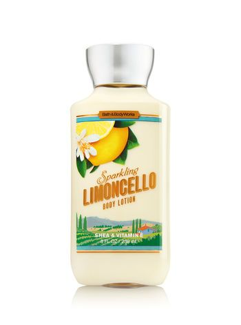 Signature Collection Sparkling Limoncello Body Lotion Bath And