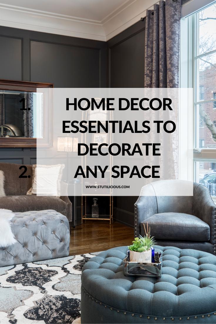 Home Decor Essentials In 2020 Decor Essentials Decorate First Home Home Decor