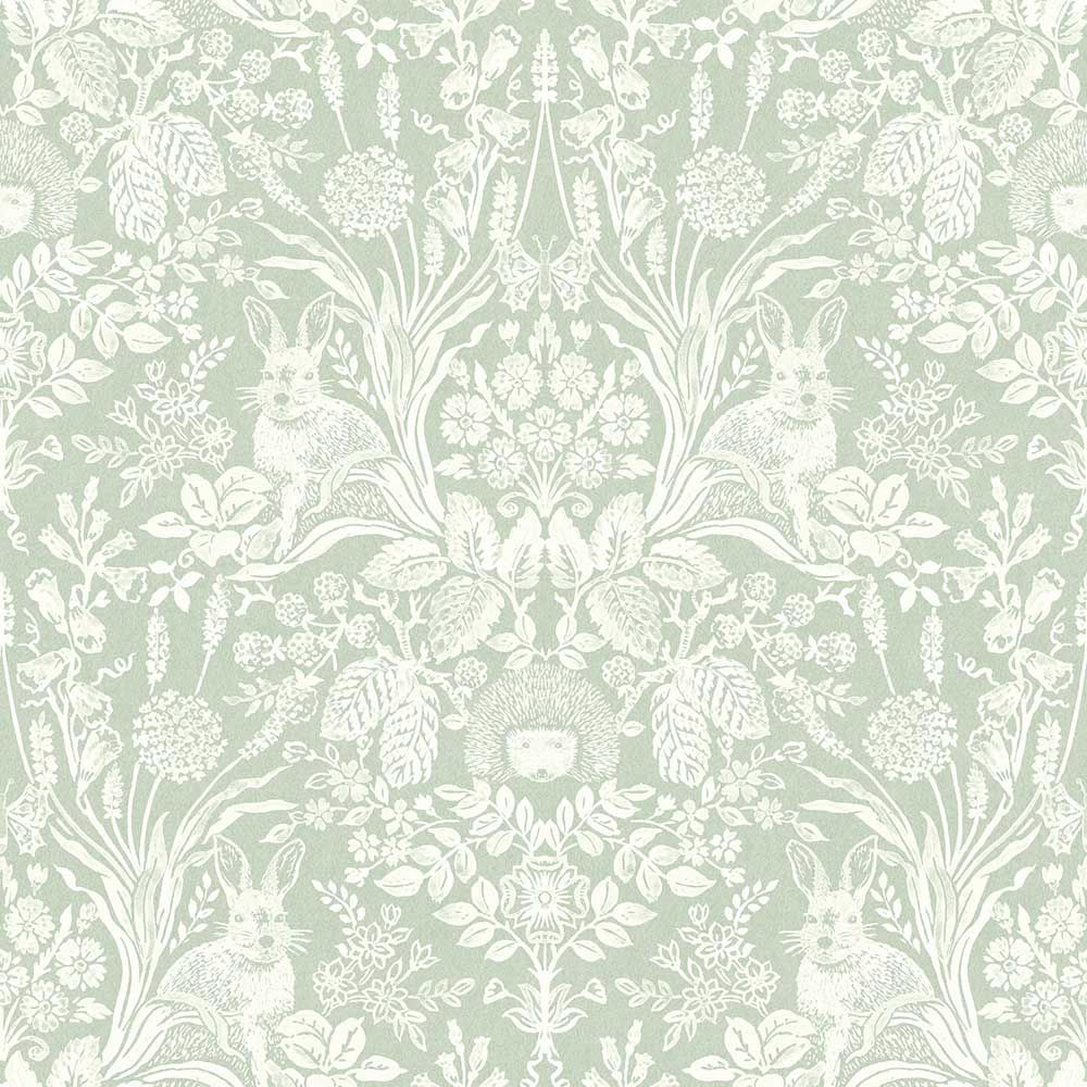 Bexley by Albany Green Wallpaper 50200 Damask