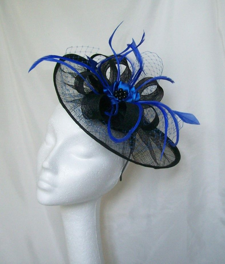 A Colourful Range Of Netting and Sinmay Fascinators