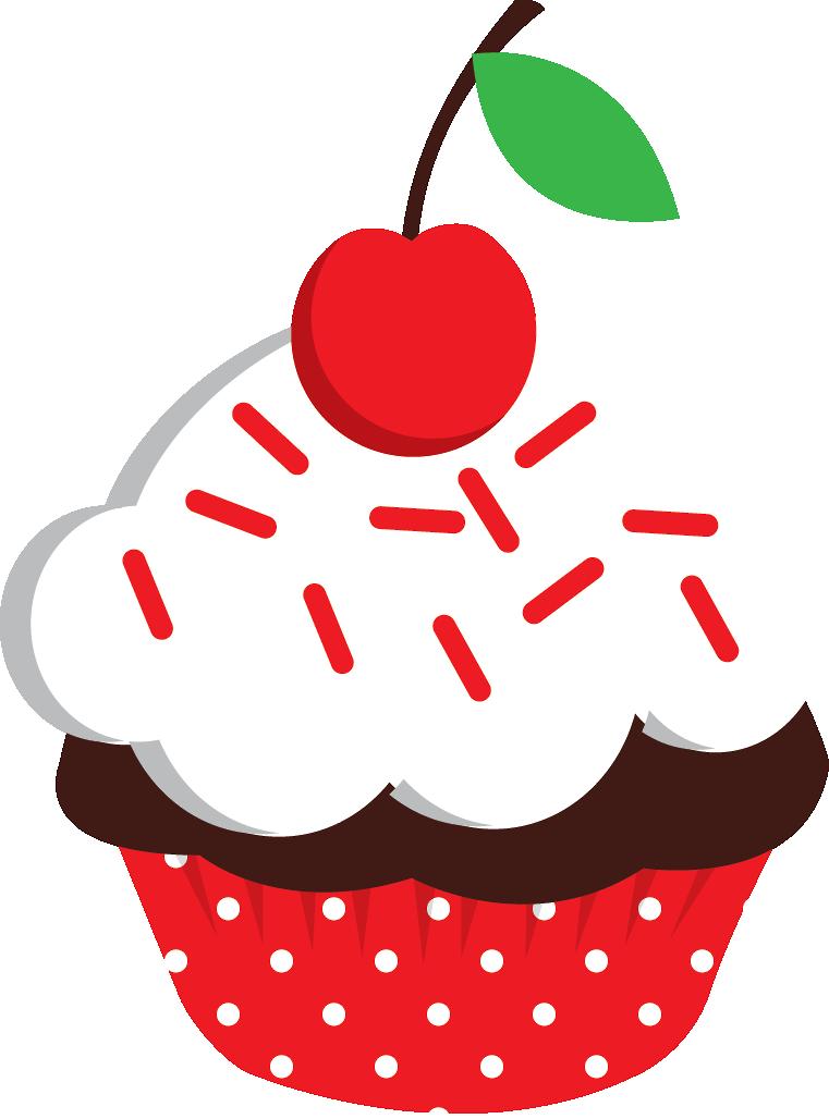 Minus - Say Hello!   Scrap   Pinterest   Cupcake clipart, Cupcakes y ...