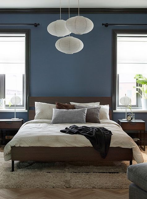 Gorgeous Ikea Bedroom Ideas That Won T Break The Bank Brown Bed