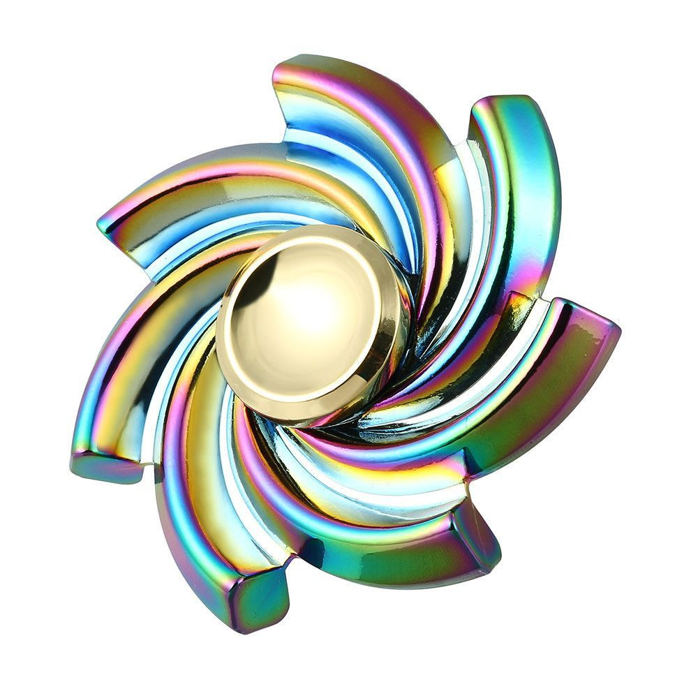 Flower Cyclone Fidget Hand Spinner Alloy Metal Hand