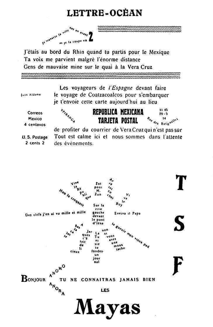 apollinaire war poetry