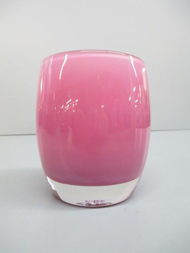 Glassybaby Peony Pink Colored Art Glass Votive Candle Holder Ebay