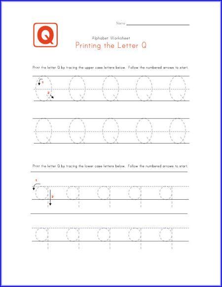 traceable letter q worksheet kindergarten letter p q r activities pinterest worksheets. Black Bedroom Furniture Sets. Home Design Ideas