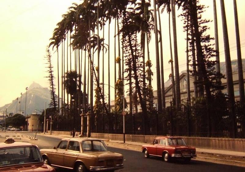 Rua General Severiano - Botafogo 1971.