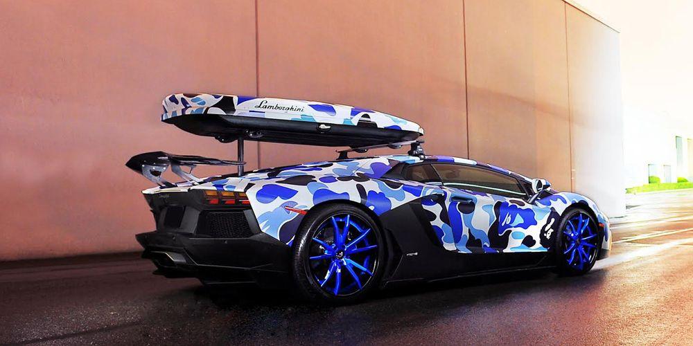 Cars Gallery | Lamborghini | Aventador | Blue | Forgiato