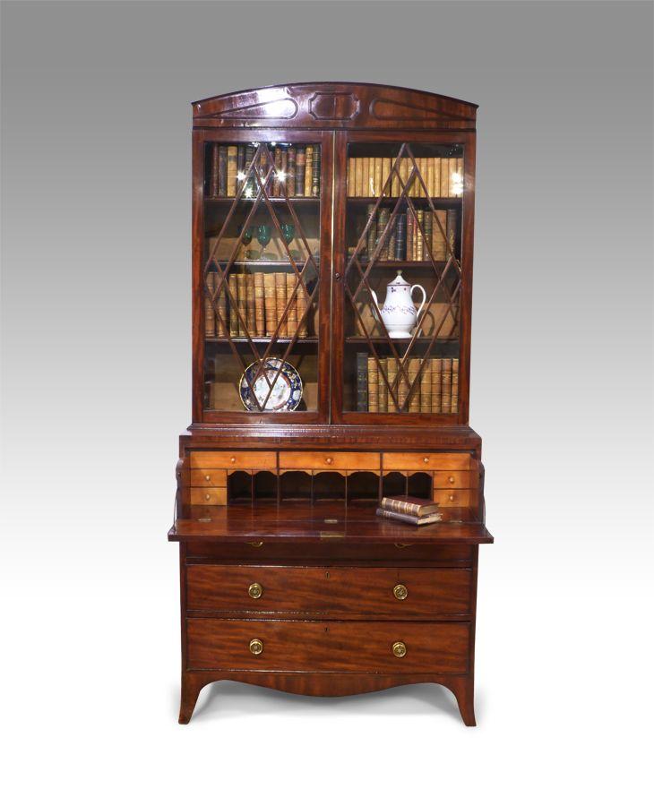 Amazing Antique Secretaire Bookcase Tulsa Hg Antiques Pinterest Download Free Architecture Designs Scobabritishbridgeorg