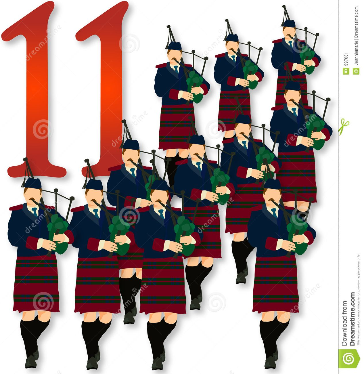 11 pipers piping images 12 days christmas 11 pipers piping 397061 jpg 1266 215 1300 5621