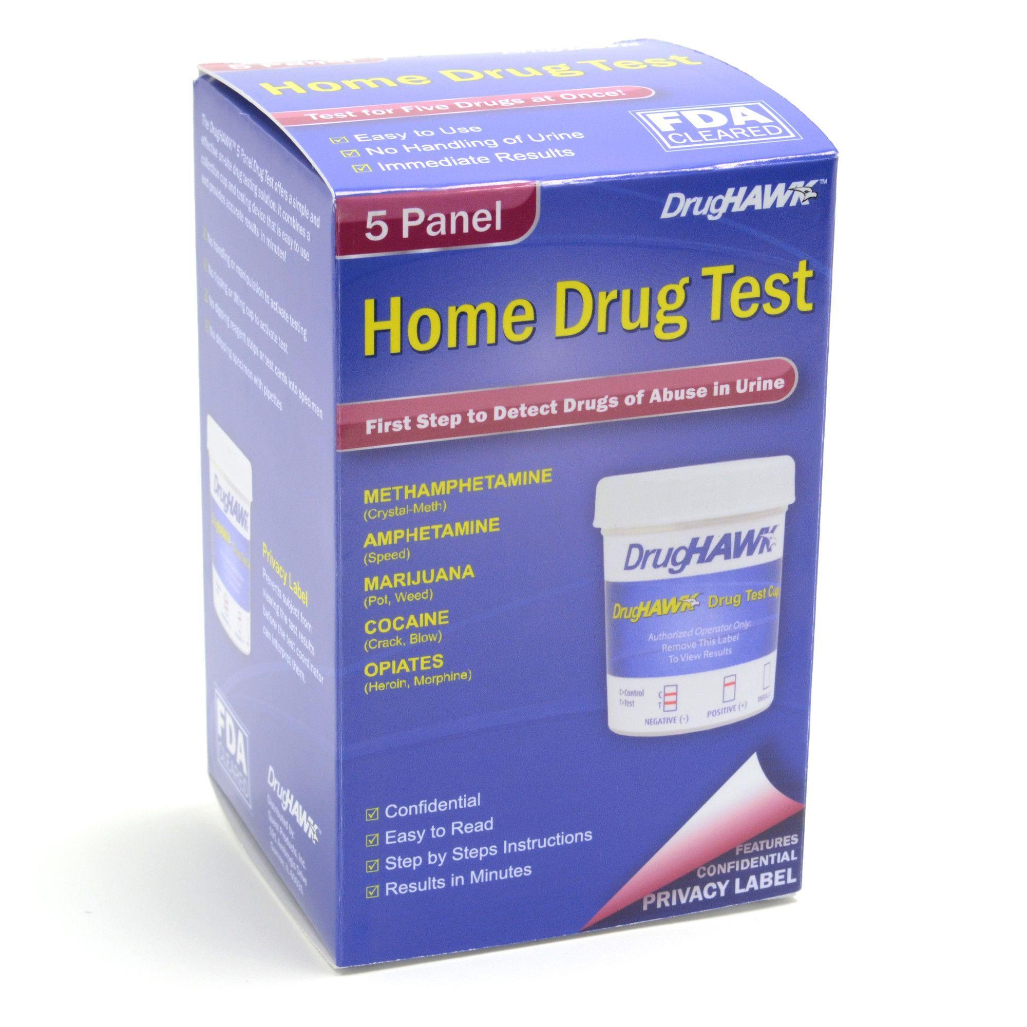 DrugHAWK Home Drug Test Kit   Products   Drug test, Drugs, Shipping