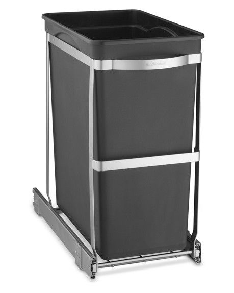 Best Simplehuman™ Stainless Steel Pull Out Trash Can Bed Bath 400 x 300