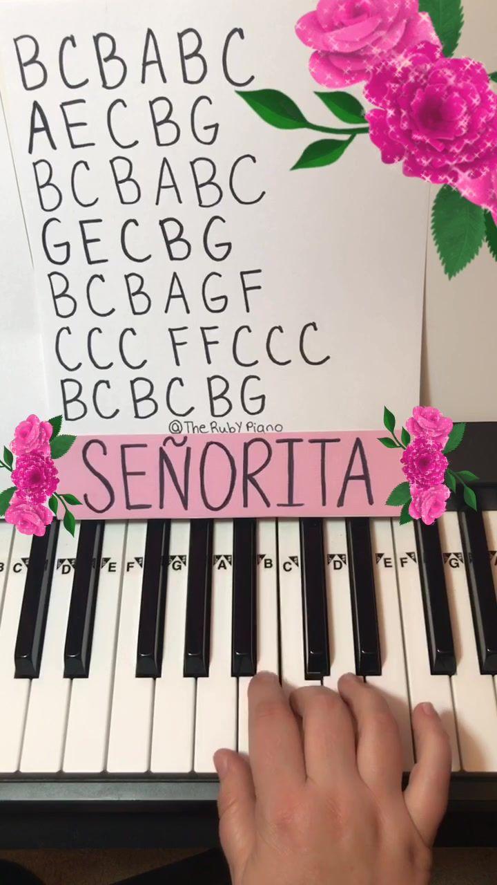 Therubypiano Therubypiano On Tiktok How To Play Baby Shark On Piano Babyshark Piano Pi Piano Music Notes Piano Music Easy Piano Music With Letters