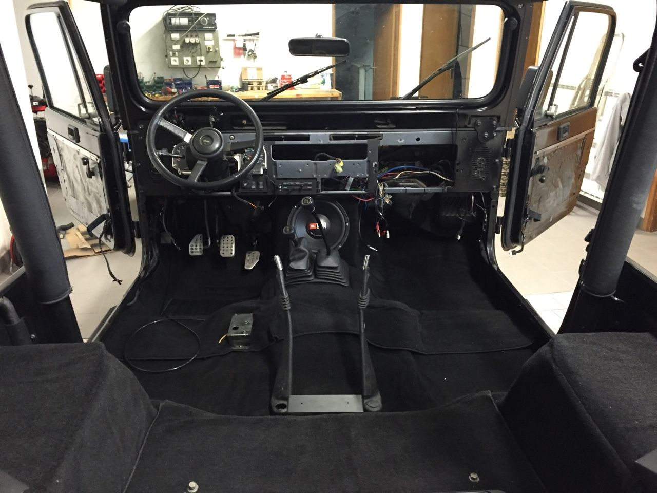 My Jeep Wrangler Yj Interior Installed New Carpet And Sound Sistem Into My Yj Jeep Wrangler Yj Jeep Jeep Wrangler