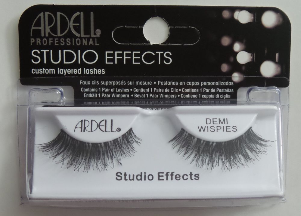 a03d55efc72 (LOT OF 10) Ardell Studio Effects DEMI WISPIES Eyelashes Black Invisibands  | eBay