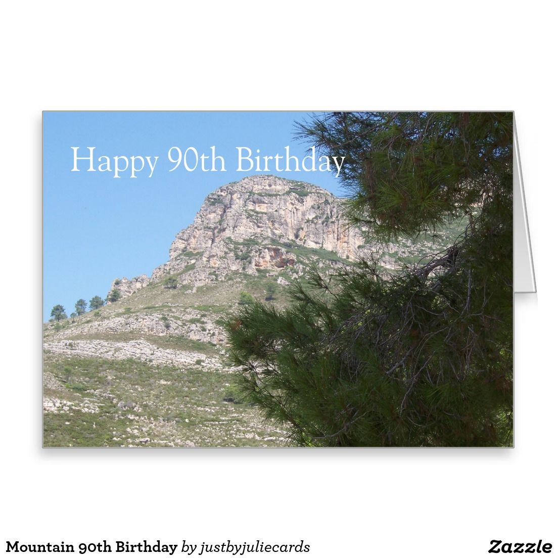Mountain Birthday Cards custom party invitations online – Mountain Birthday Cards