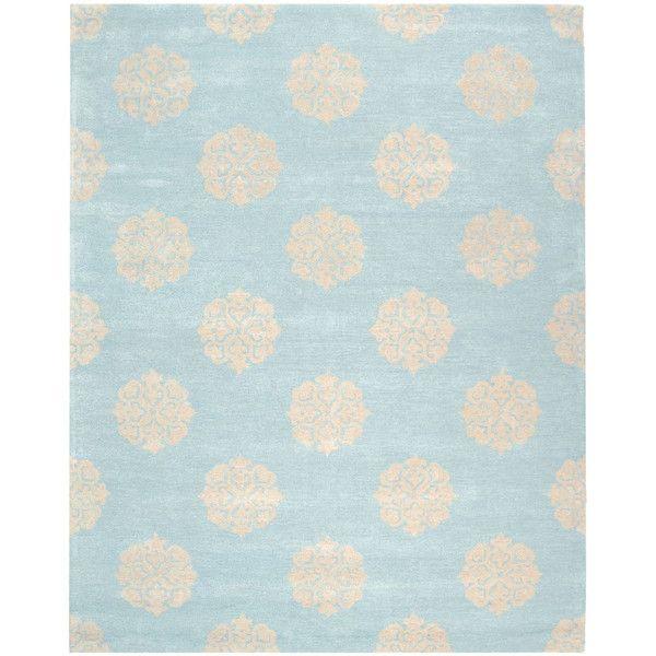 16000**Vlněný koberec Safavieh Caroline, 228x289 cm, modrý