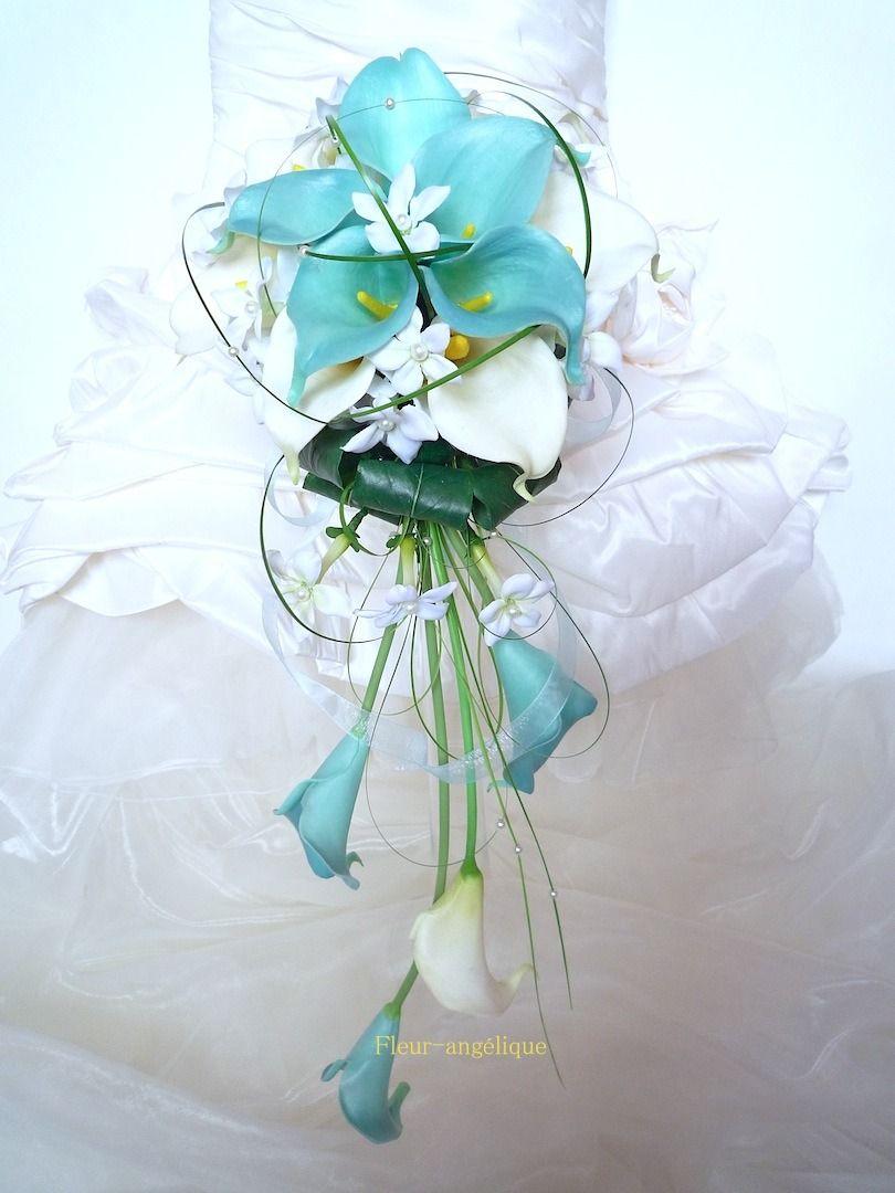 Peignes cheveux orchid e rose blanc pour mariage ou c r monie r f peigne007 turquoise - Bouquet mariee orchidee ...