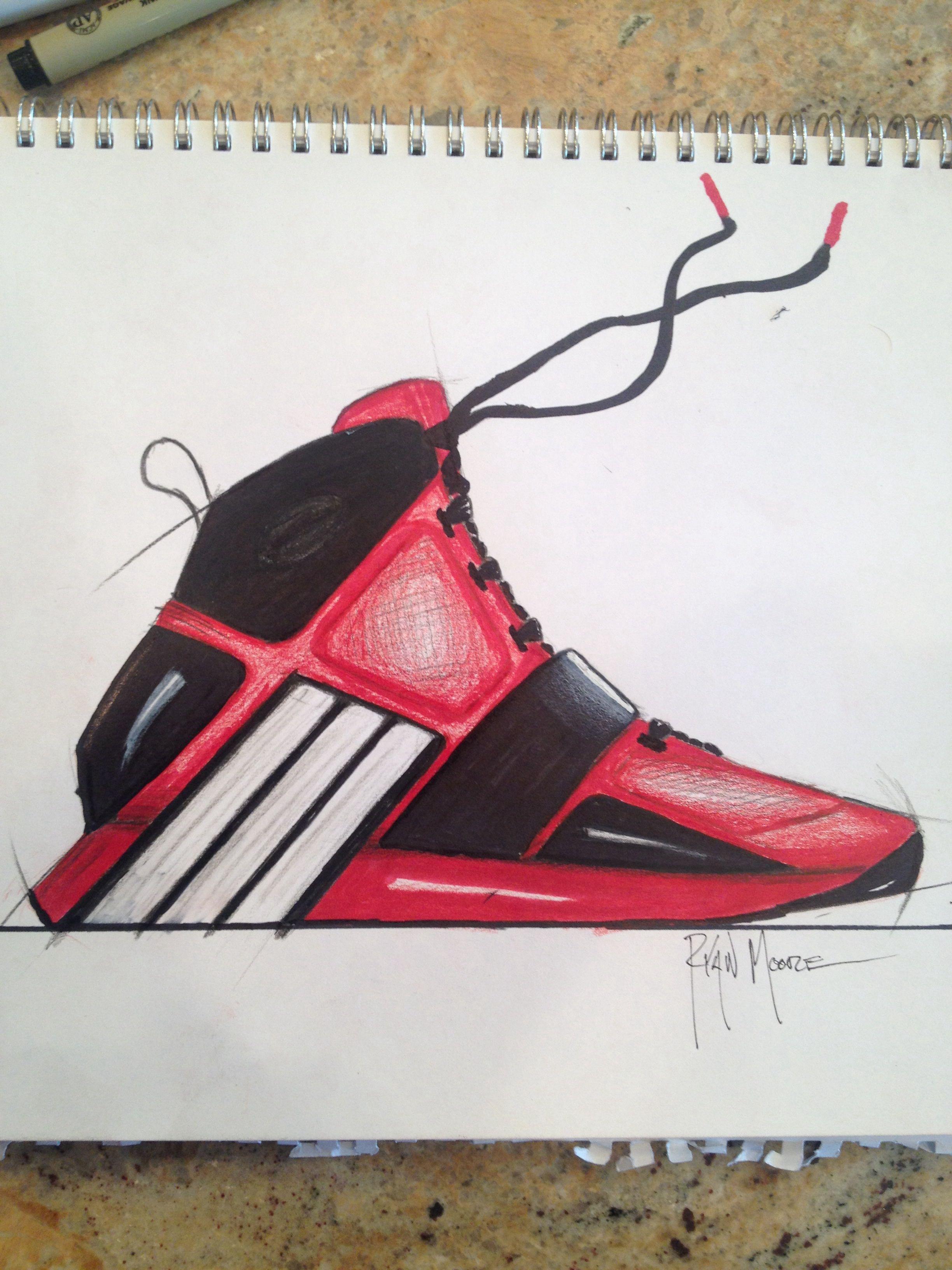 Adidas basketball shoe designed for Dwight Howard