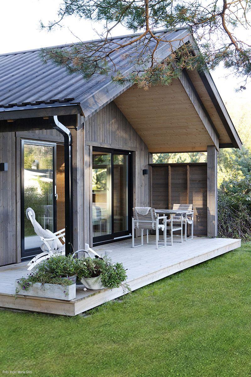 Hytteinspirasjon fra rindalshytter med kledning og tretak for Med cottages