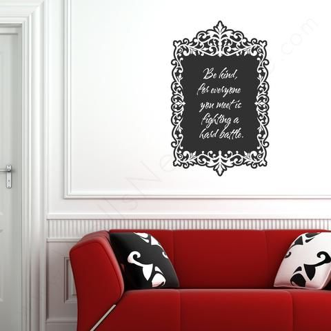 Wall Decals Chalkboard Dots Grant Writing And Walls - Wall decals you can write on