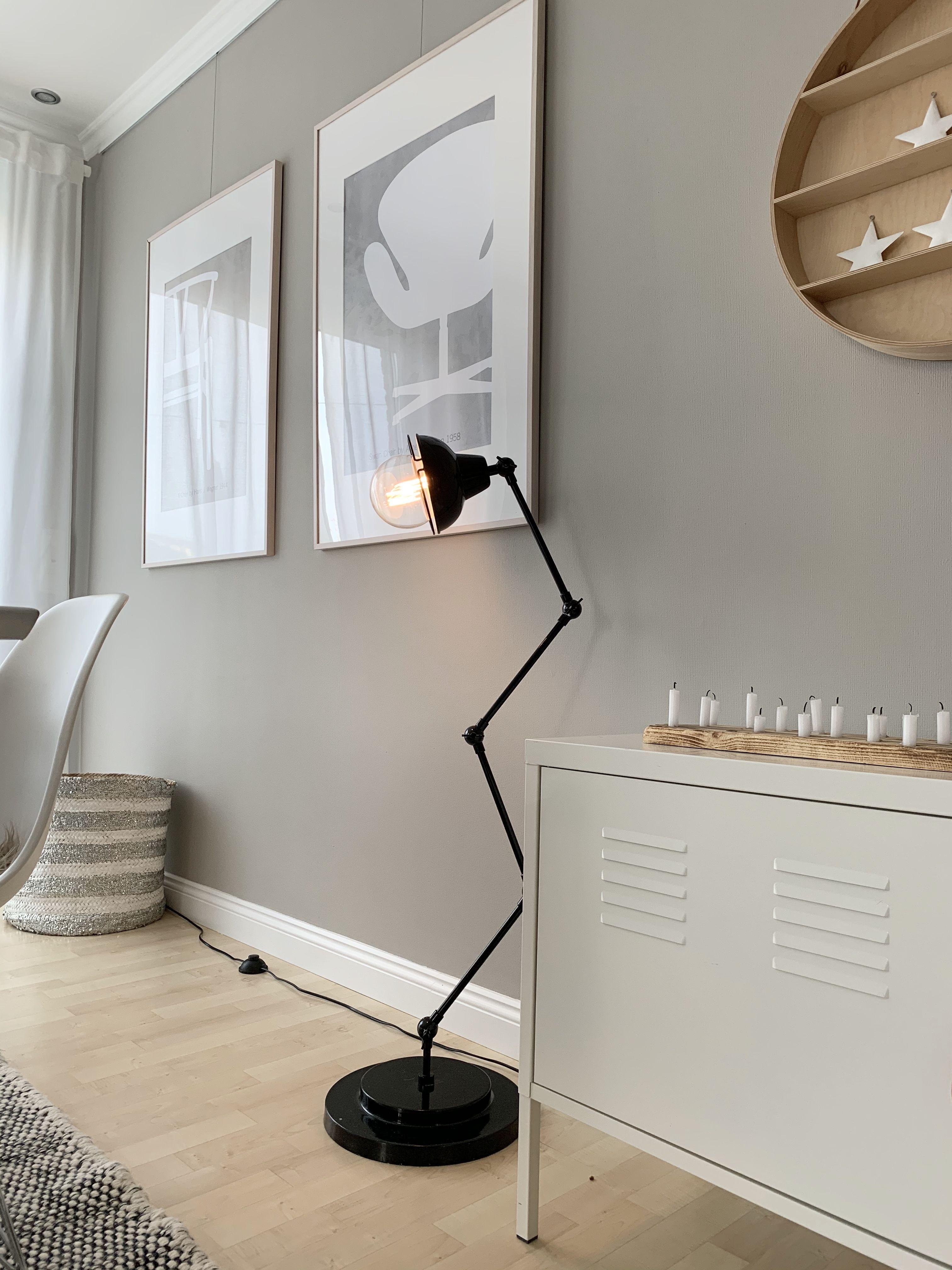 Wohn Und Esszimmer In Greige Kolorat In 2020 Wandfarbe Wohnzimmer Wohnzimmerfarbe Wandgestaltung Wohnzimmer Farbe
