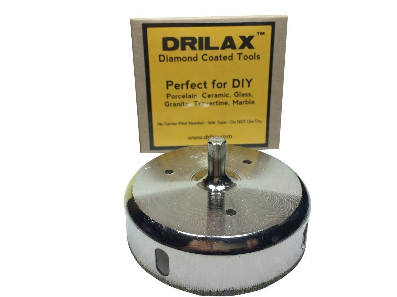 Drilax 3 1 2 Inch Diamond Hole Saw Glass Drill Bit Awesome Product Click The Image Diy Do It Yourself Today Drill Bits Glass Marbles Glass Tile