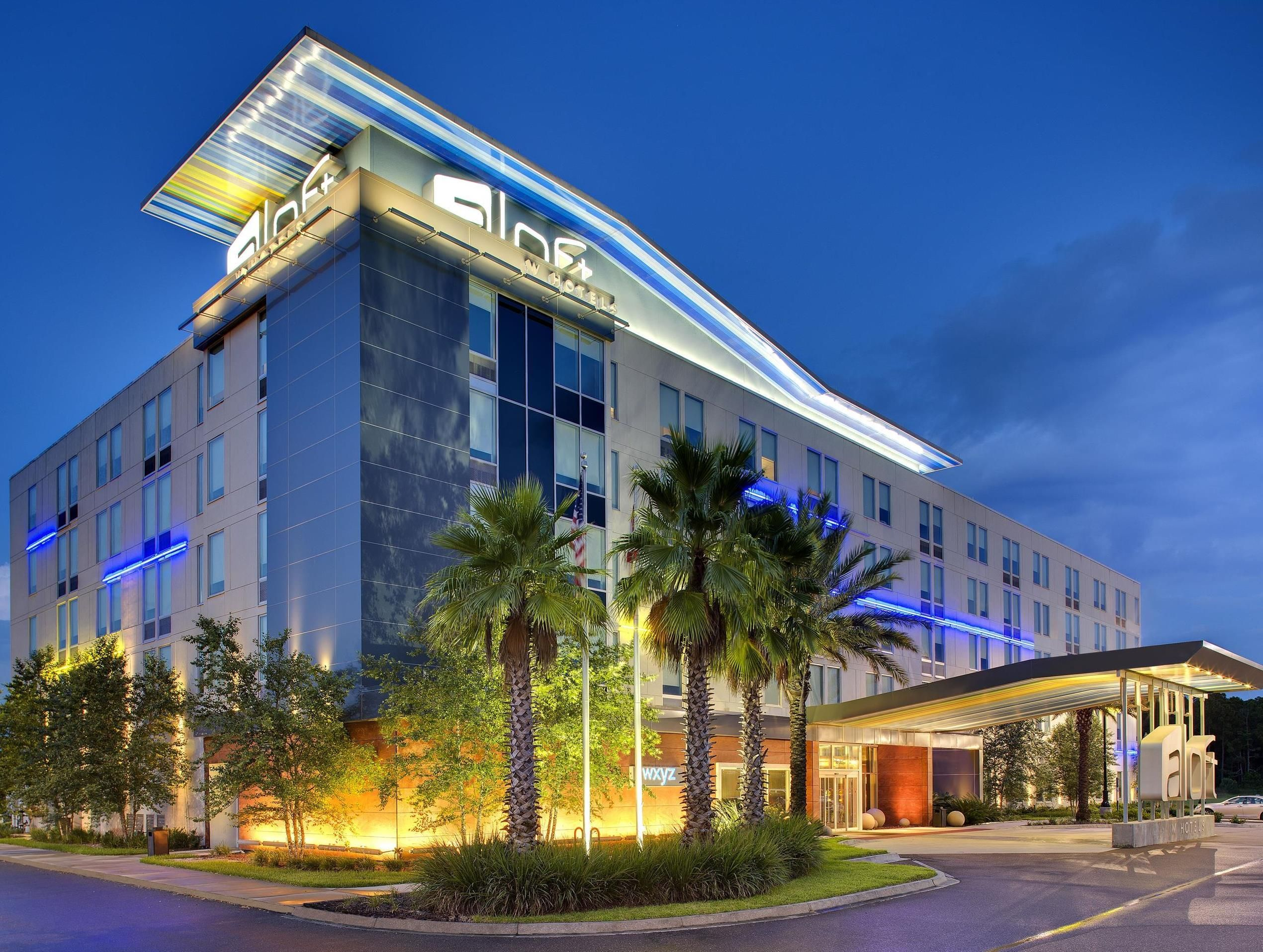 Jacksonville Fl Aloft Airport United States North America Is Conveniently Located In The Por Northside Area