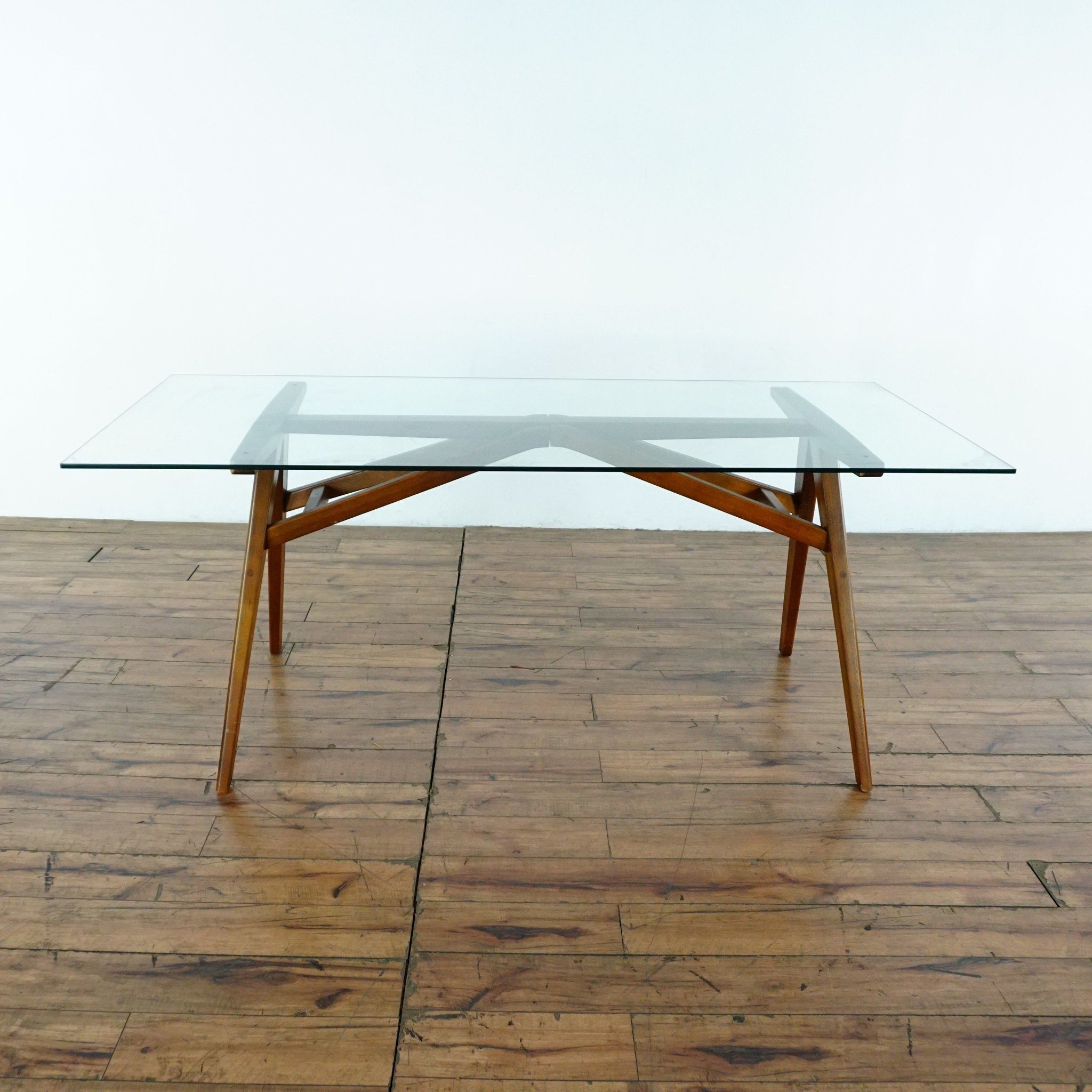 West Elm Jensen Glass Top Dining Table Dining Table Glass Top