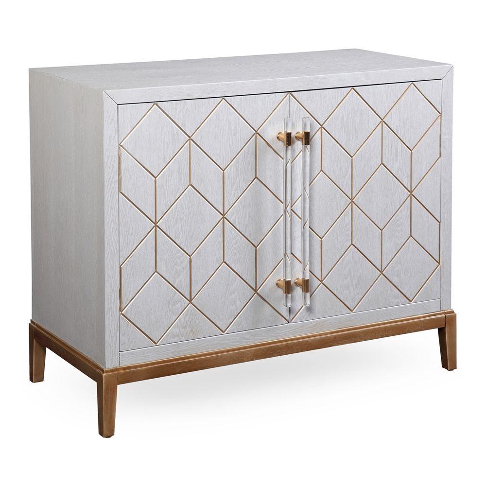 East Urban Home Holli 2 Door Accent Cabinet Wood In Birch Size Standard 24 42 Wayfair Vozeli Com