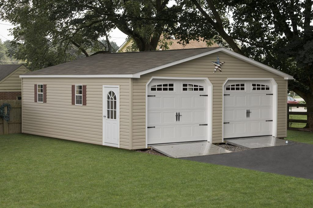 2-Car Garage – Wood