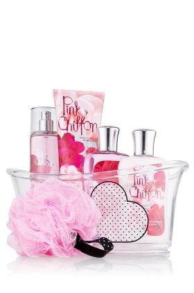 Bath & Body Works® Signature Collection Splish Splash Gift Set Pink Chiffon