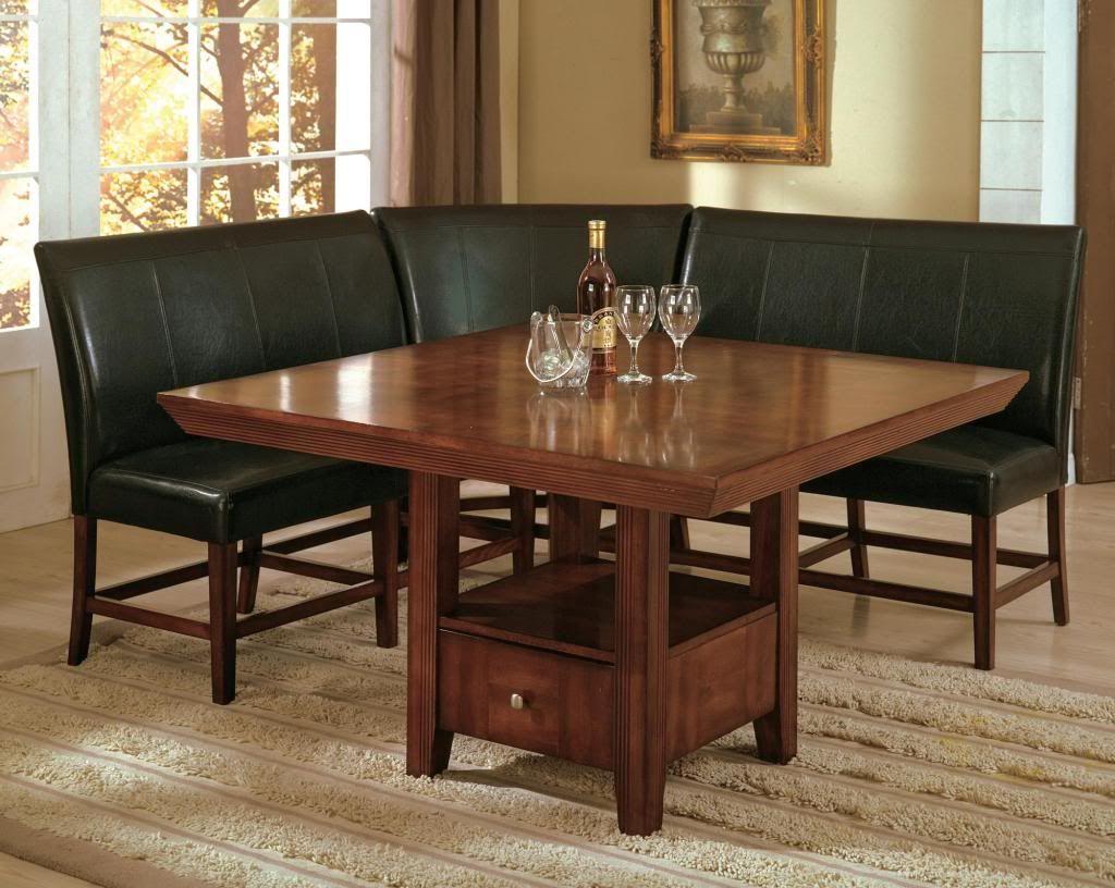 Inspiring Breakfast Nook Kitchen Table Sets Salem 4 Piece